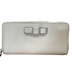 Coach Zip Around Darcy Bow Full-size Wallet